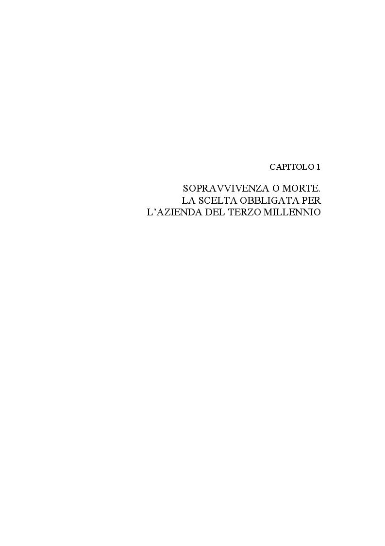 Anteprima della tesi: BPR - L'approccio per processi nella riorganizzazione delle aziende di servizi - Il caso AMGA S.p.A., Pagina 10