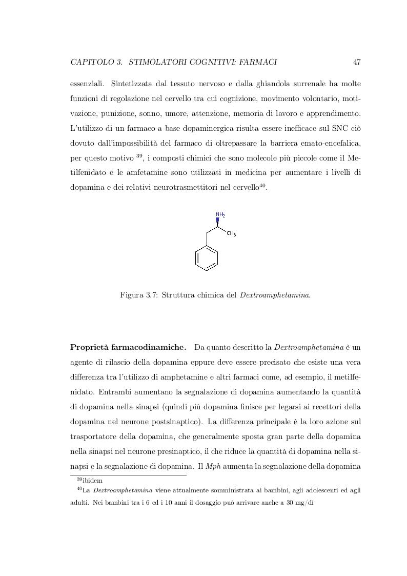 Anteprima della tesi: Smart Drugs: Stimolatori cognitivi e loro utilizzo, Pagina 4