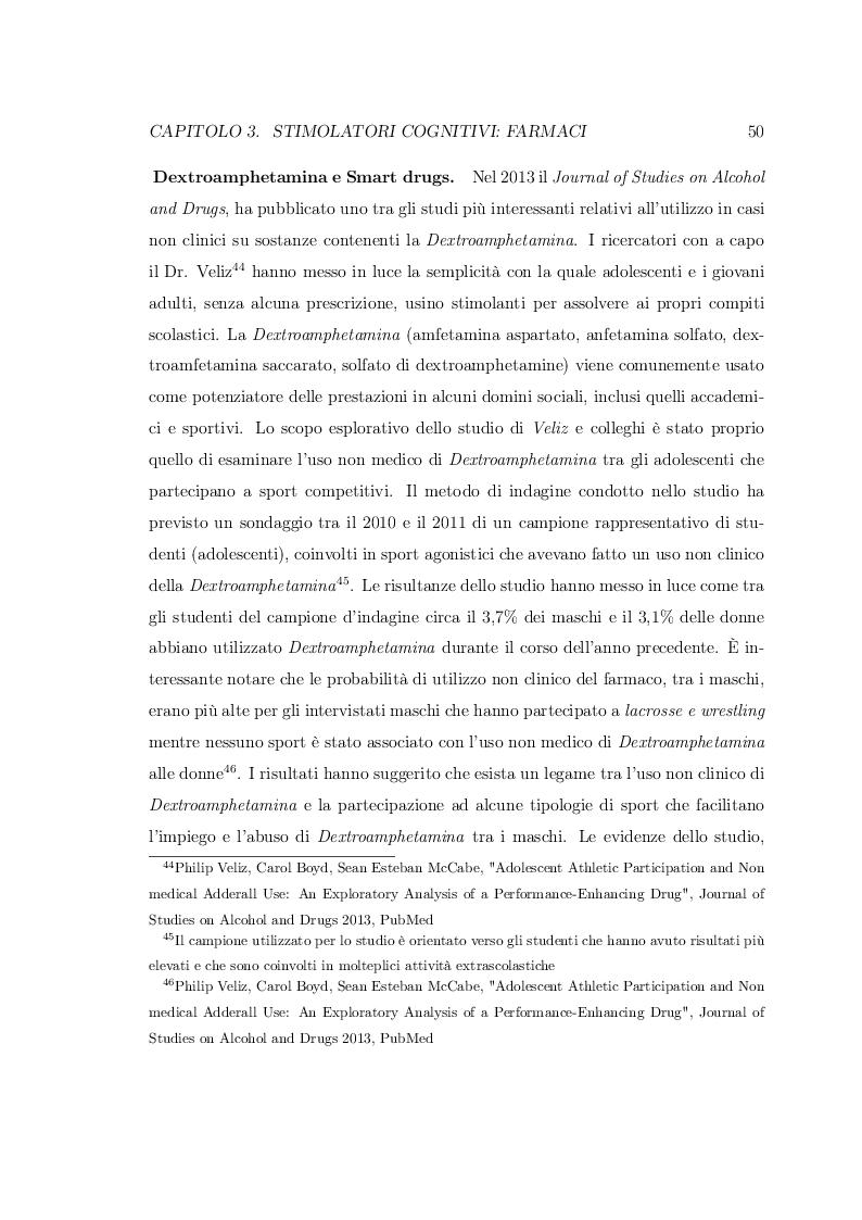 Anteprima della tesi: Smart Drugs: Stimolatori cognitivi e loro utilizzo, Pagina 7