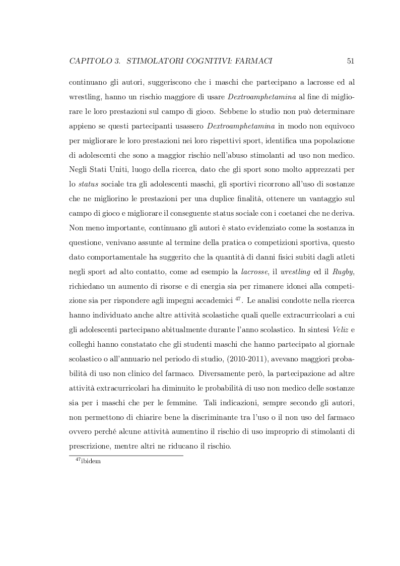 Anteprima della tesi: Smart Drugs: Stimolatori cognitivi e loro utilizzo, Pagina 8