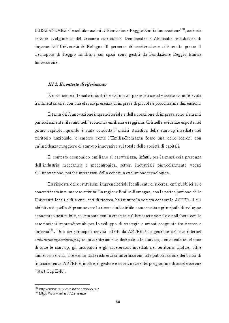Anteprima della tesi: L'efficacia dei seed accelerator nello sviluppo delle start-up: il percorso di accelerazione UpIdea, Pagina 3