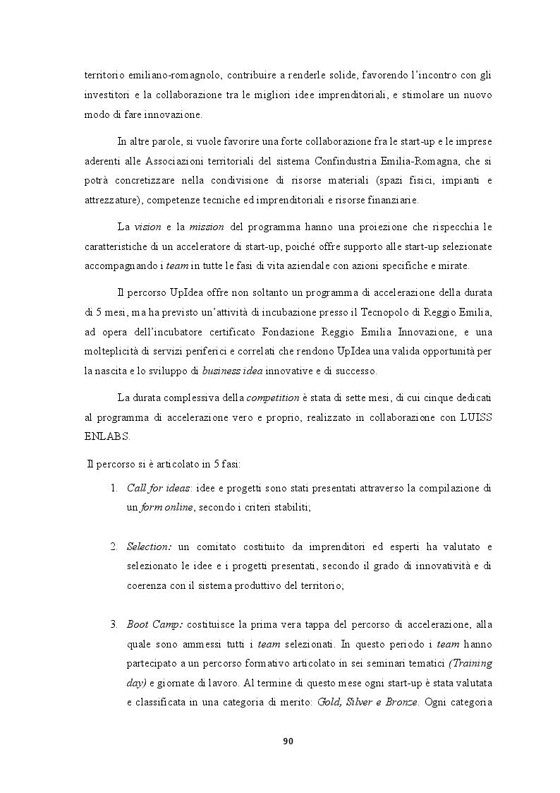 Anteprima della tesi: L'efficacia dei seed accelerator nello sviluppo delle start-up: il percorso di accelerazione UpIdea, Pagina 5