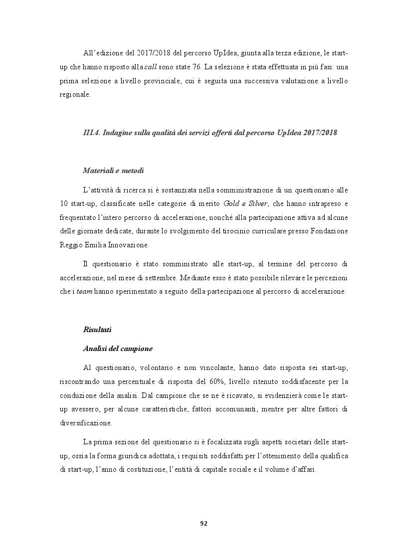 Anteprima della tesi: L'efficacia dei seed accelerator nello sviluppo delle start-up: il percorso di accelerazione UpIdea, Pagina 7