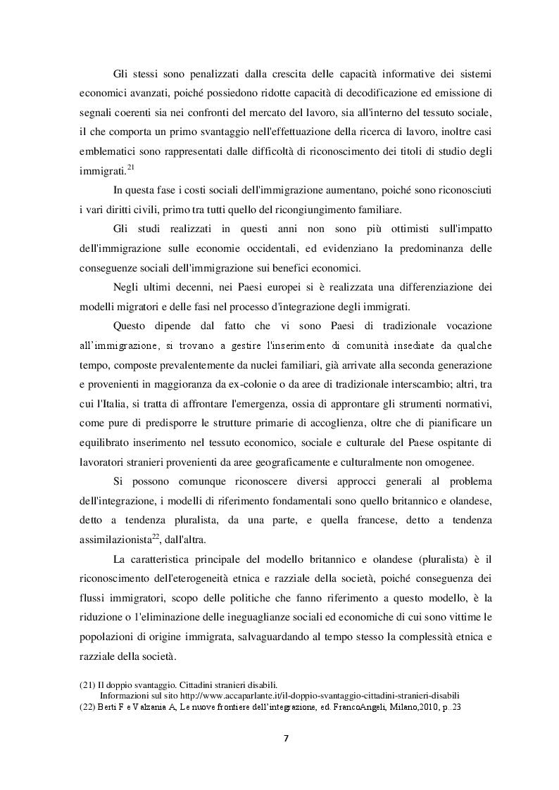 Anteprima della tesi: Il fenomeno dell'immigrazione irregolare e la salvaguardia della vita umana a mare, Pagina 8