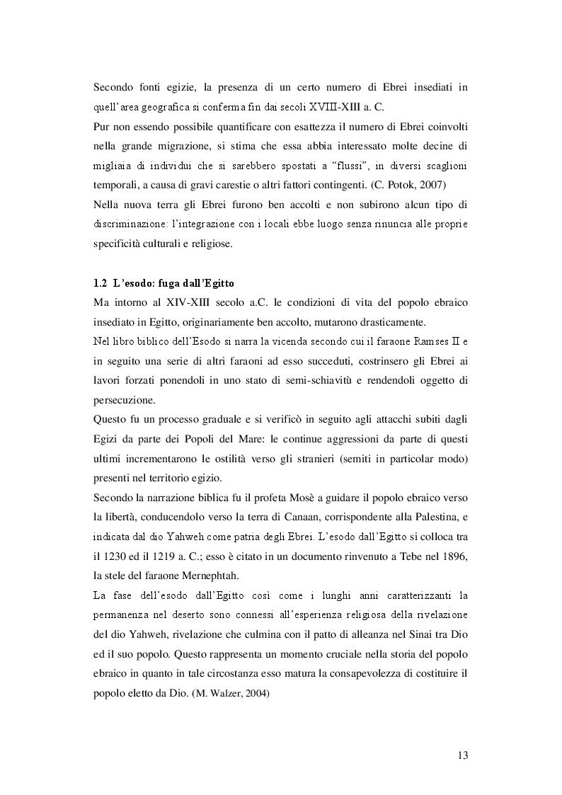 Anteprima della tesi: Fondamentalismo religioso in Israele: come una minoranza può minare le basi di uno stato democratico, Pagina 8