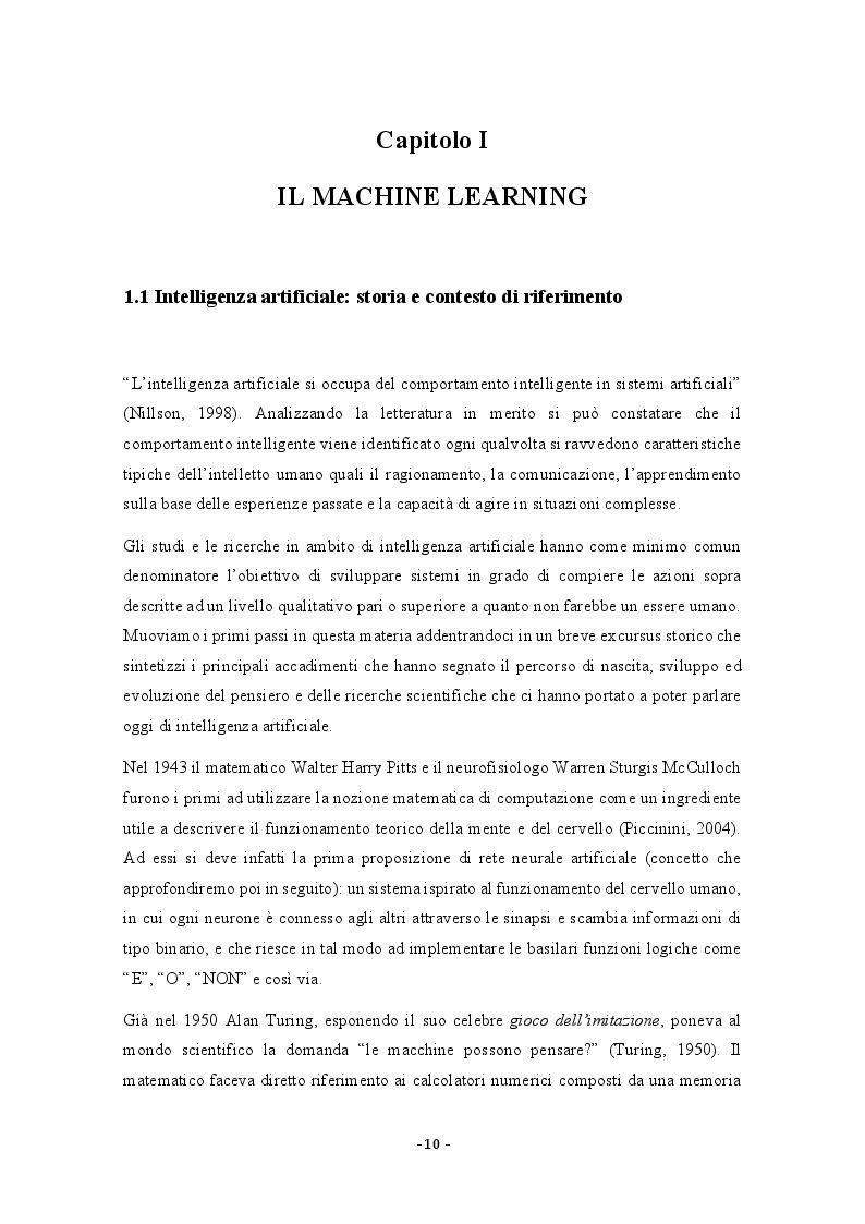 Anteprima della tesi: Possibili applicazioni del machine learning alla valutazione del potenziale delle risorse umane, Pagina 5