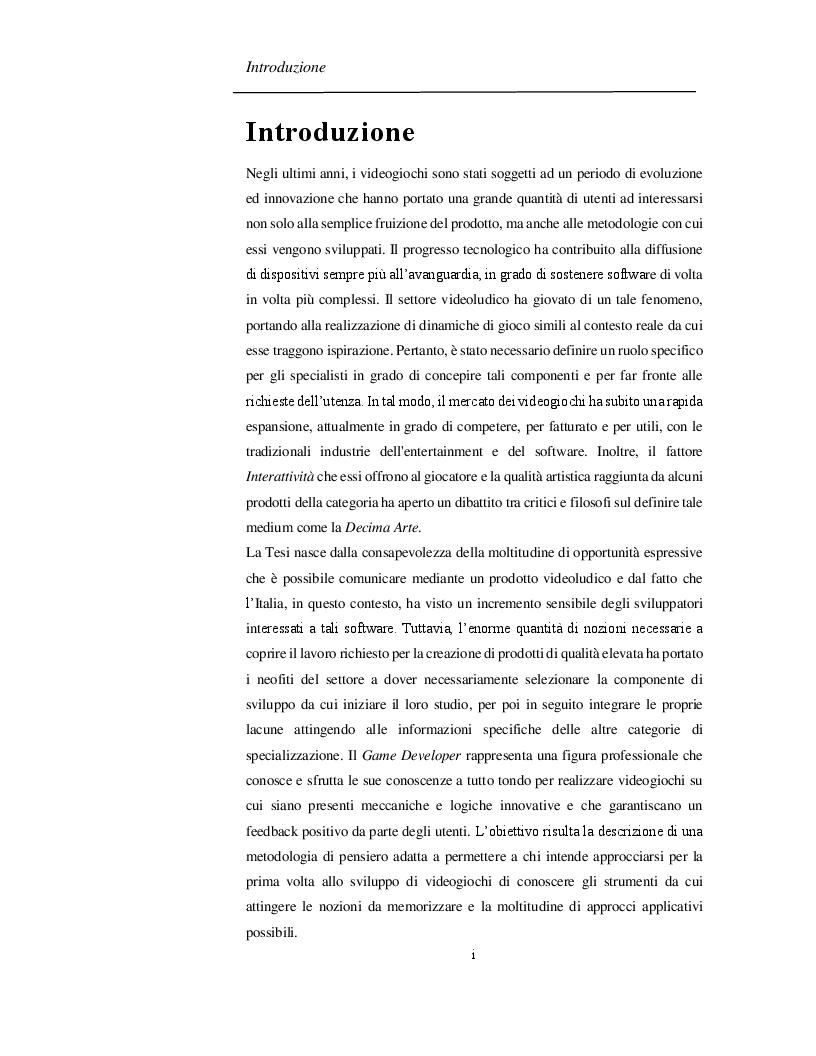 Anteprima della tesi: Progettazione e Sviluppo di un Software Videoludico con Cocos2d-x, Pagina 2