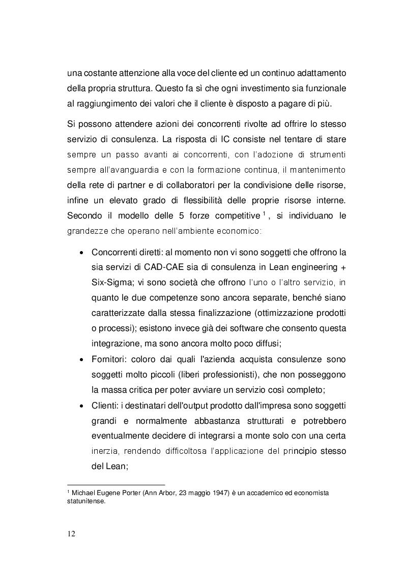 """Estratto dalla tesi: Sviluppo ed implementazione di una metodologia di gestione progetti ed attività di ingegneria, basata sul concetto di """"Lean Engineering"""""""