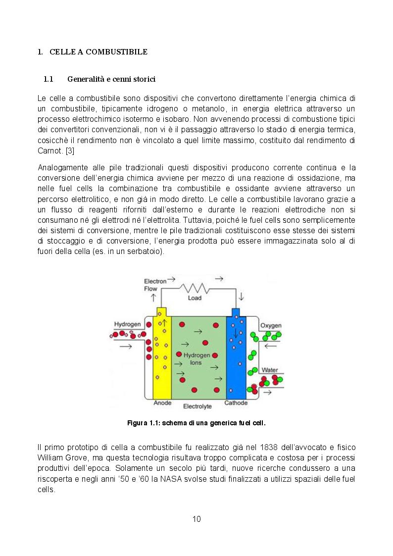Anteprima della tesi: Analisi sperimentale di una cella a combustibile passiva alimentata a metanolo diretto, Pagina 5