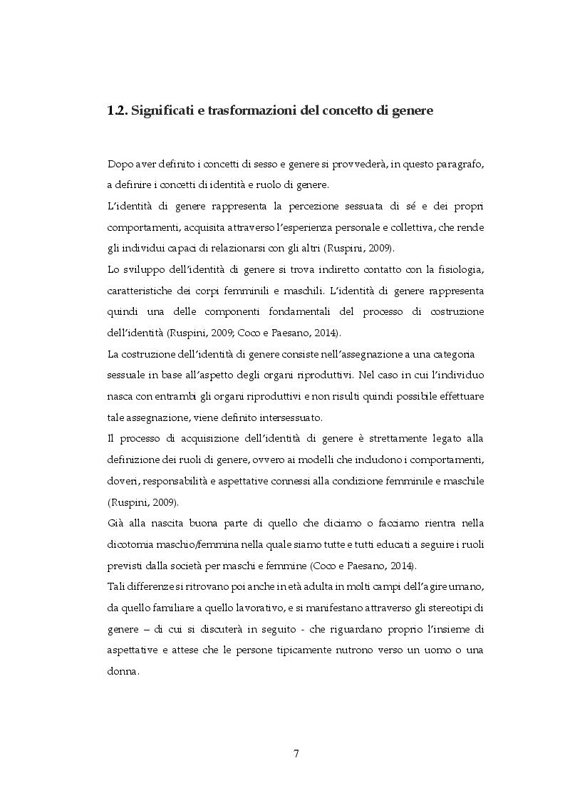 Anteprima della tesi: Gender Equality in Italia e in Francia: un'analisi comparativa, Pagina 6
