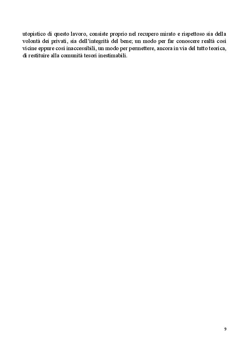 Anteprima della tesi: Villa Rovereti Rizzardi: Una villa veneta in Valpolicella vista attraverso la storia delle famiglie che la abitarono, Pagina 4