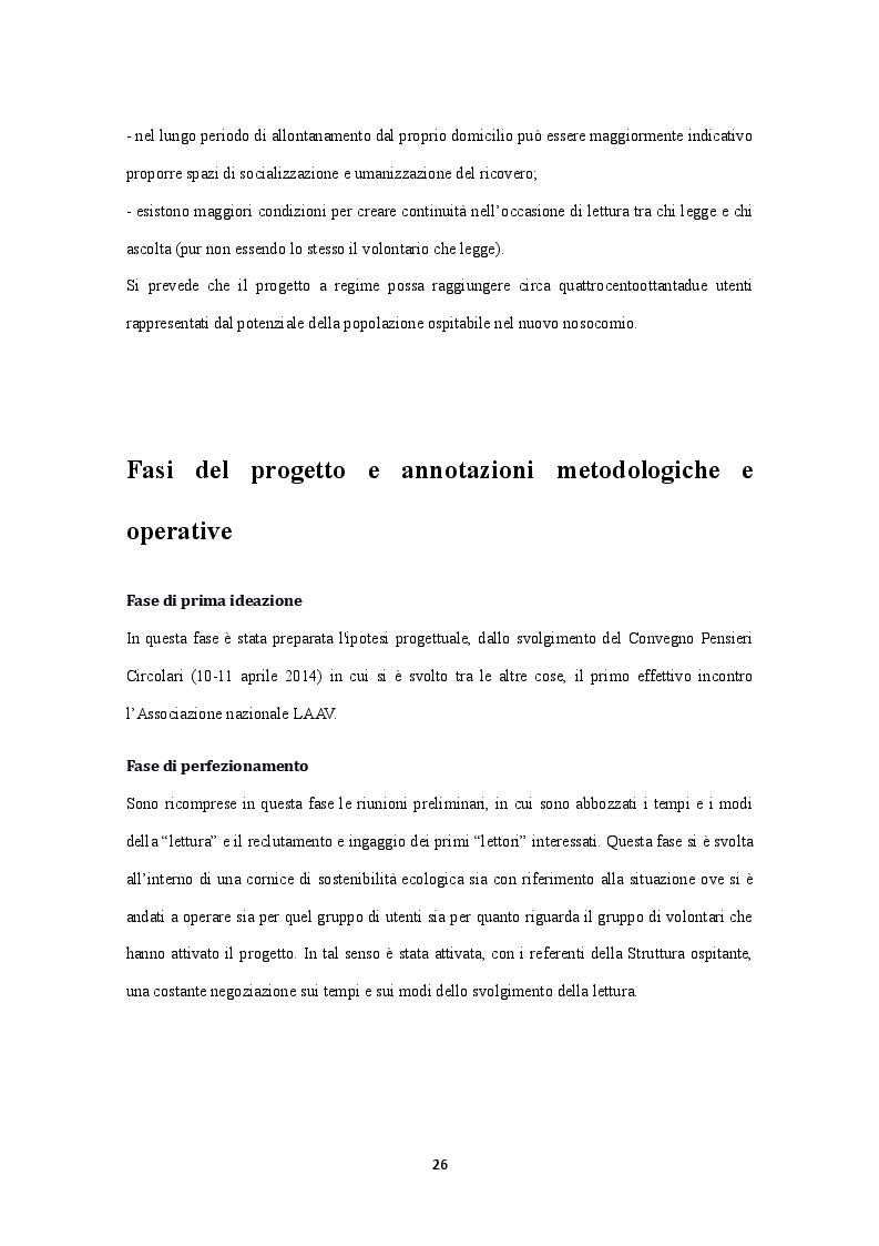 Anteprima della tesi: Lettura ad Alta voce: la cura degli altri e di sé alla luce delle Medical Humanities, Pagina 6
