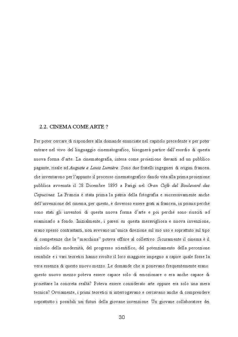 Anteprima della tesi: Filosofia e Cinematografia, Pagina 2