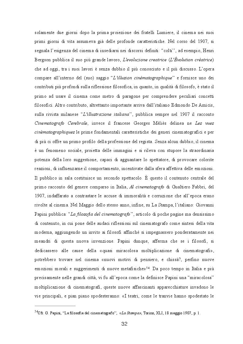 Anteprima della tesi: Filosofia e Cinematografia, Pagina 4