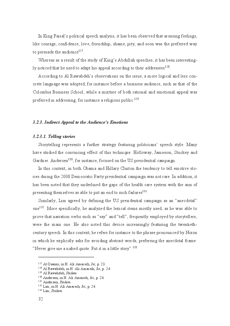 Anteprima della tesi: Linguistic and cultural background influence on the speaker's rhetoric: a comparative case study of the English speeches of Queen Rania and Queen Noor of Jordan, Pagina 4