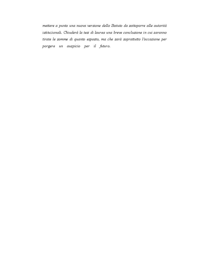 Anteprima della tesi: Origini, caratteri e prospettive dell'autonomia speciale della Regione Siciliana, Pagina 4