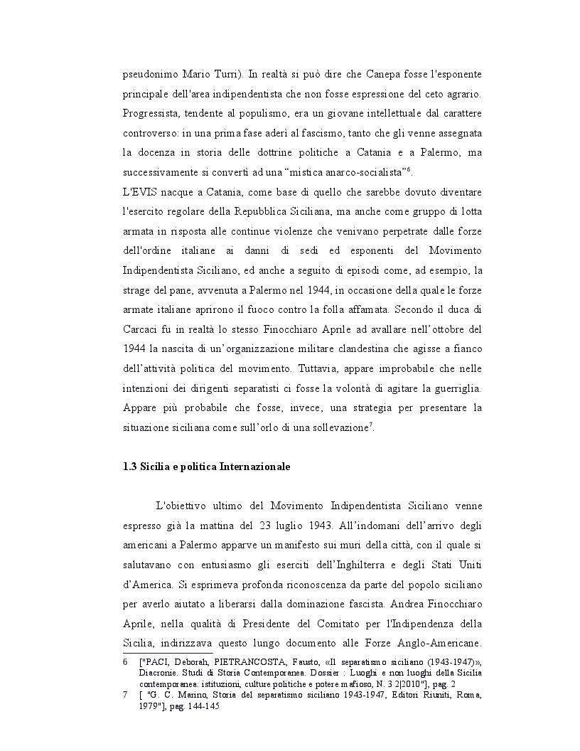 Anteprima della tesi: Origini, caratteri e prospettive dell'autonomia speciale della Regione Siciliana, Pagina 8