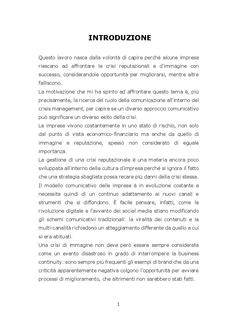 Anteprima della tesi: La crisi aziendale come opportunità di cambiamento, Pagina 2