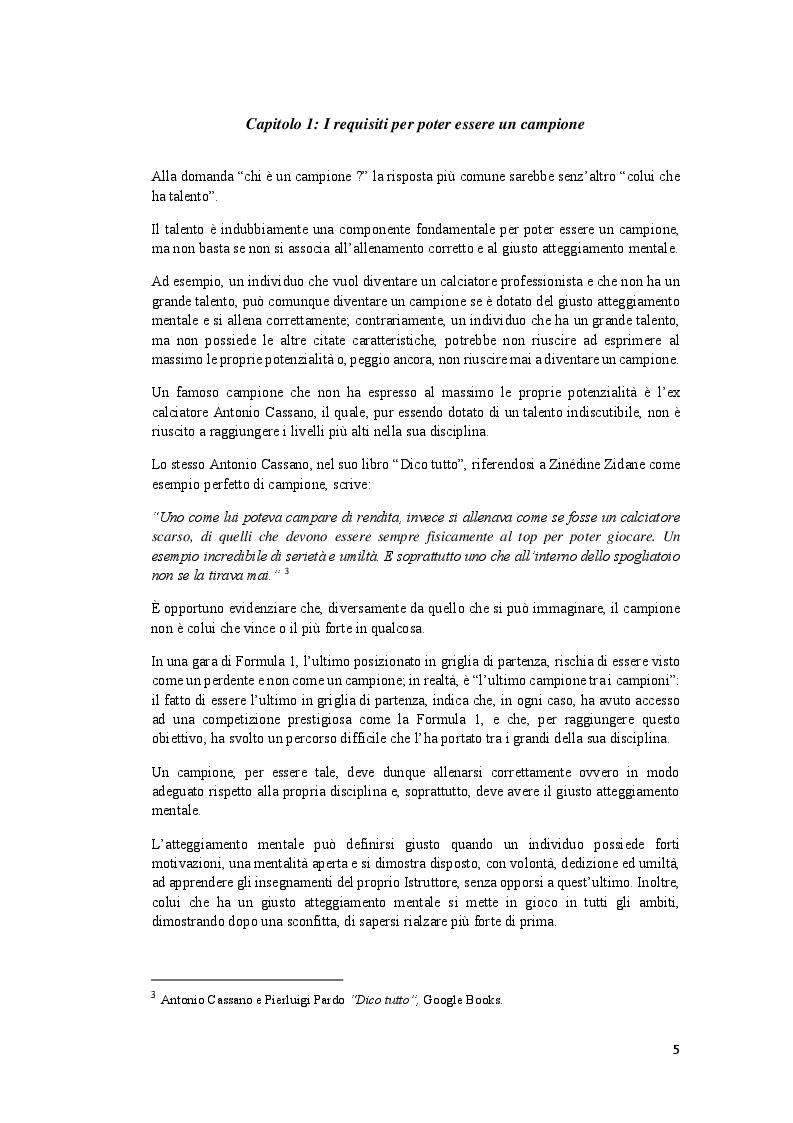 Anteprima della tesi: L'atteggiamento mentale di Bruce Lee nelle Arti Marziali, Pagina 5