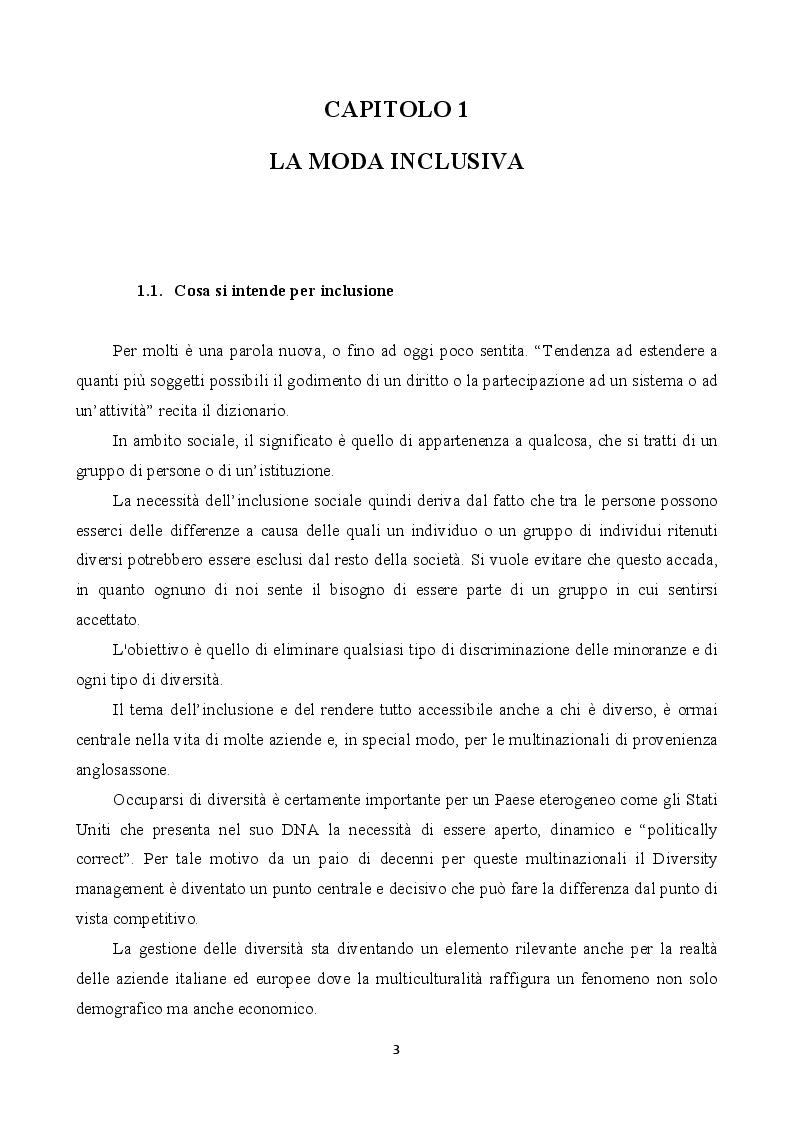 Anteprima della tesi: Inclusione e bellezza non convenzionale nella comunicazione di moda, Pagina 3