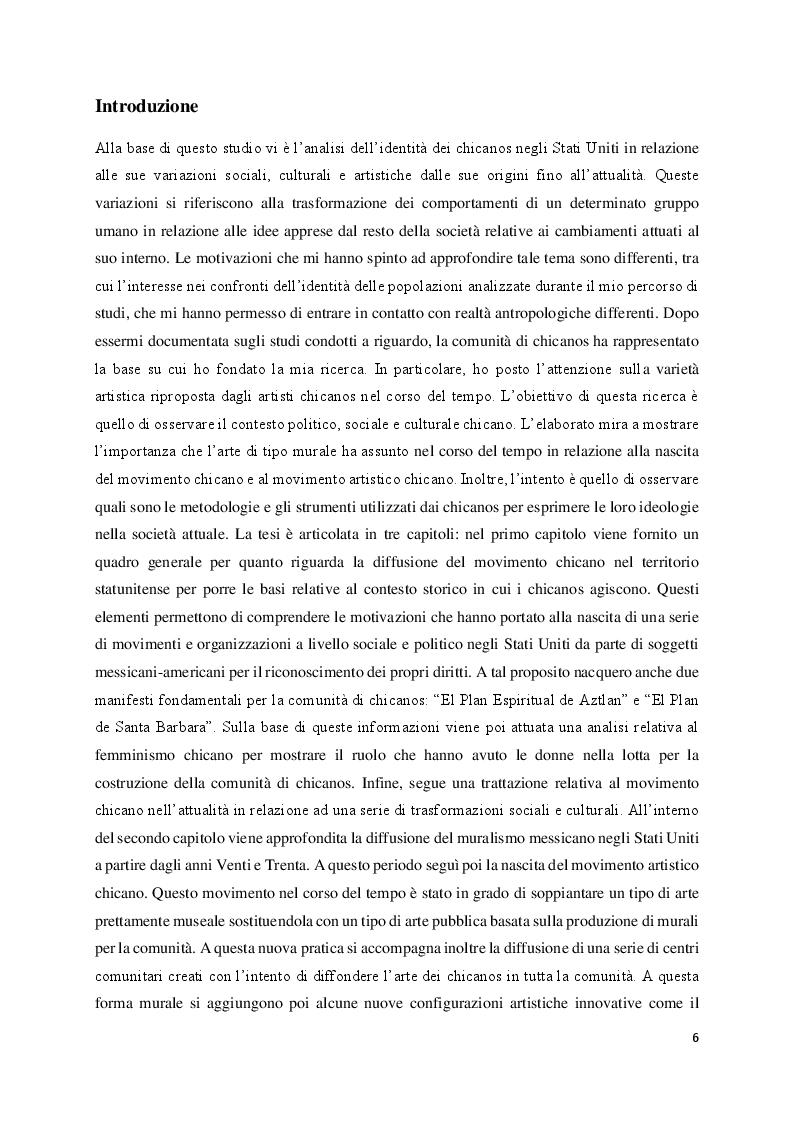 Anteprima della tesi: Judith Baca e il muralismo chicano negli Stati Uniti, Pagina 2