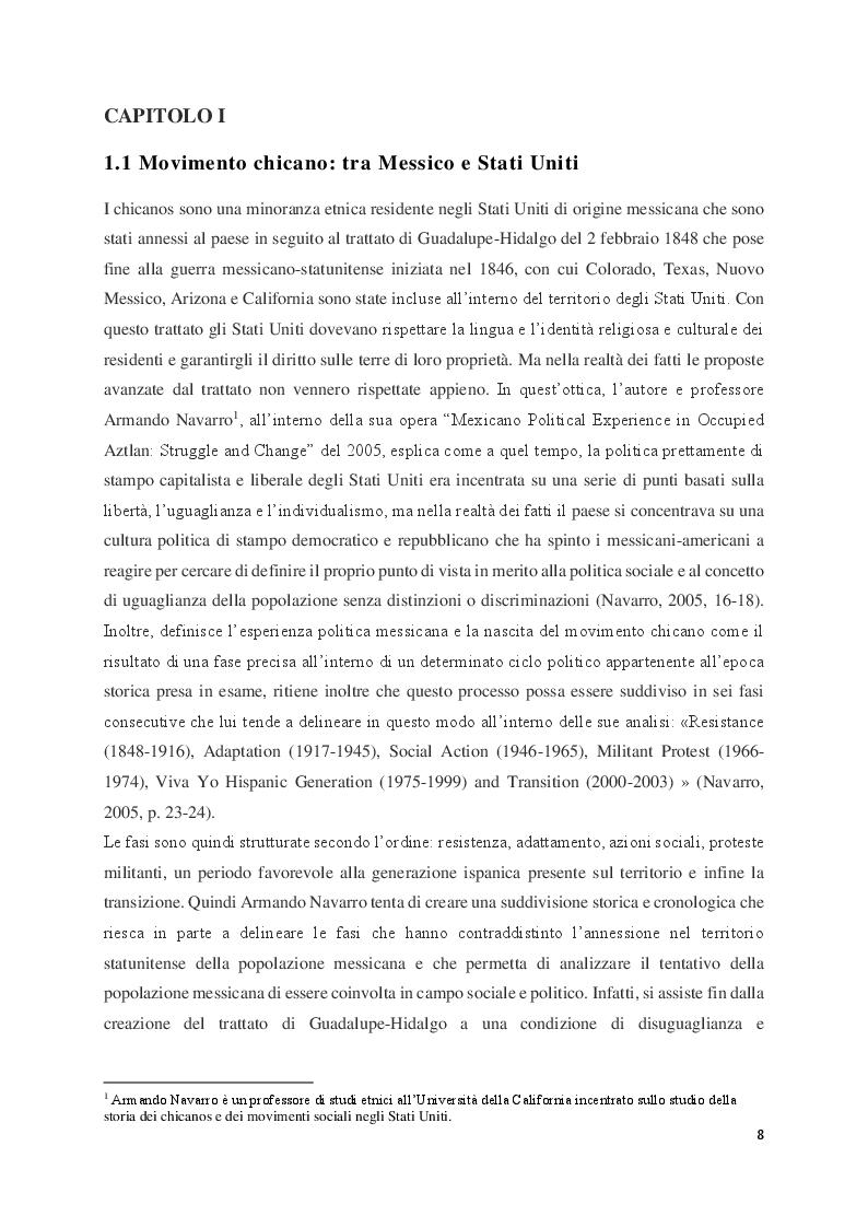 Anteprima della tesi: Judith Baca e il muralismo chicano negli Stati Uniti, Pagina 4