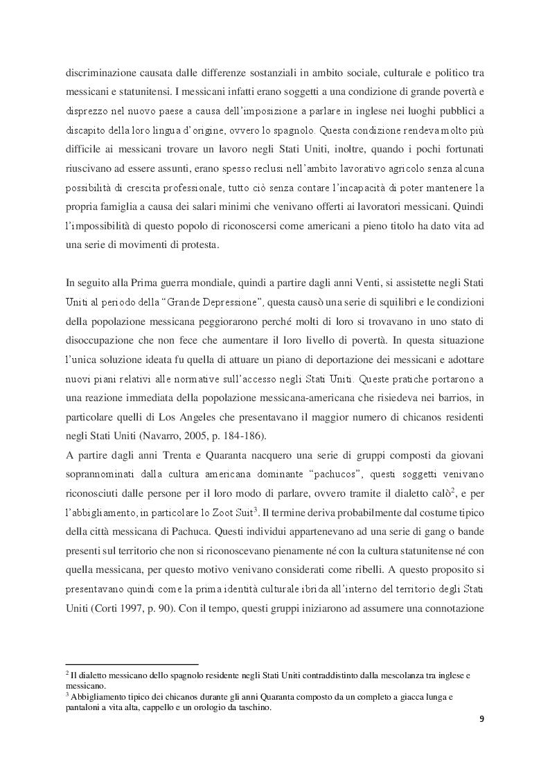 Anteprima della tesi: Judith Baca e il muralismo chicano negli Stati Uniti, Pagina 5