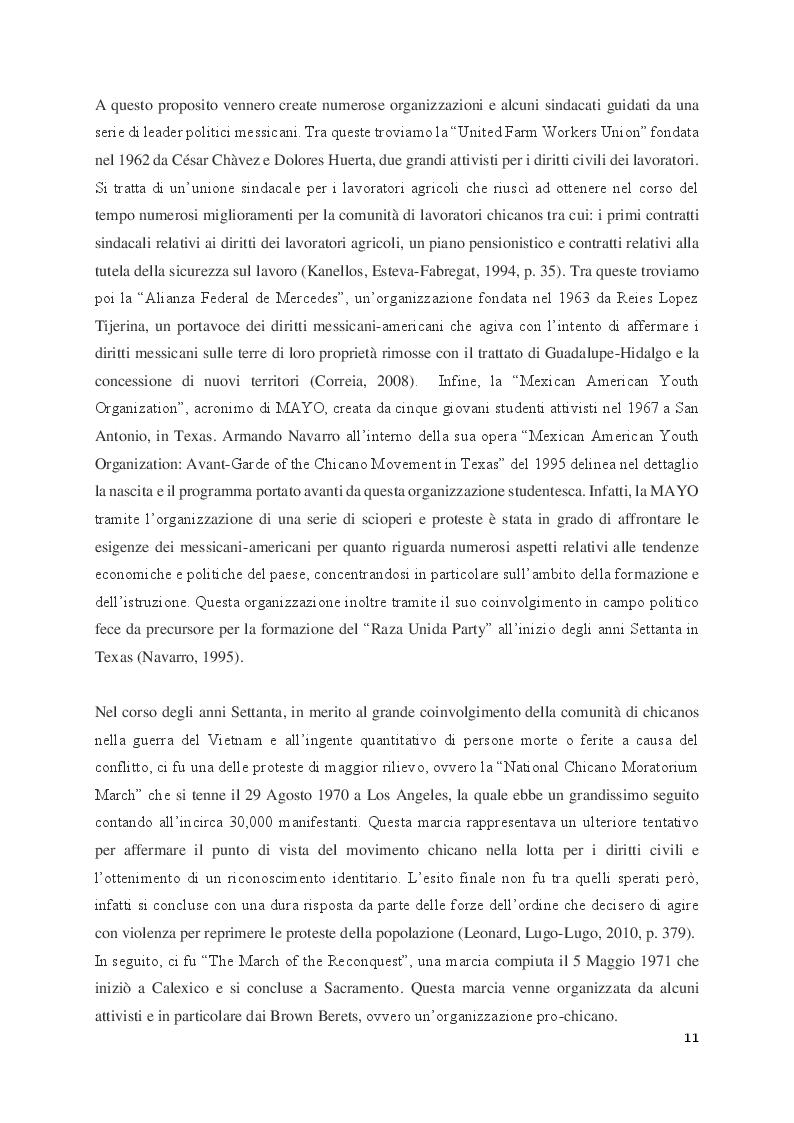 Anteprima della tesi: Judith Baca e il muralismo chicano negli Stati Uniti, Pagina 7