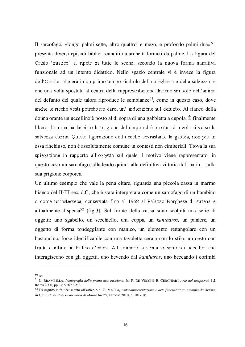 Estratto dalla tesi: Il tema iconografico della ''Cavea cum ave inclusa'' a Roma e nel Lazio tra XII e XIII secolo
