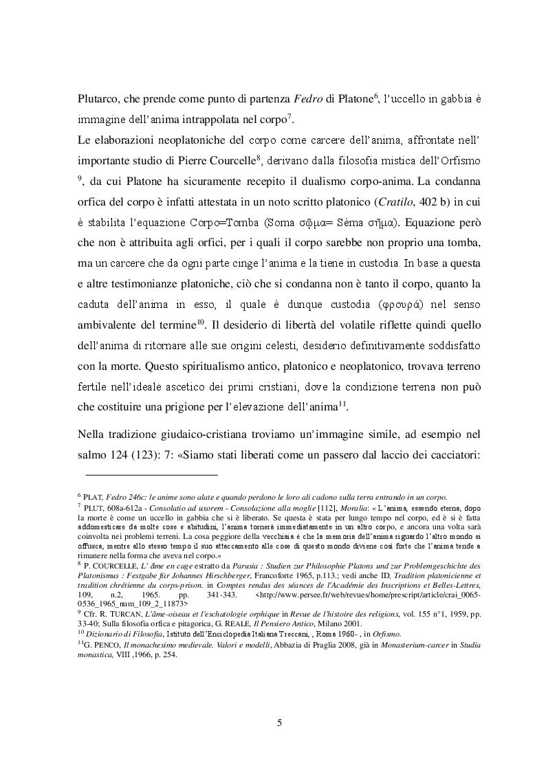 Anteprima della tesi: Il tema iconografico della ''Cavea cum ave inclusa'' a Roma e nel Lazio tra XII e XIII secolo, Pagina 5