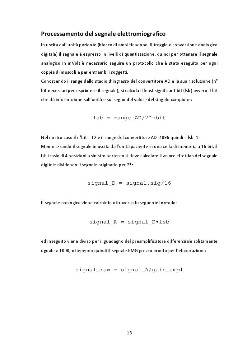 Anteprima della tesi: La simmetria nel cammino valutata con il segnale elettromiografico, Pagina 5