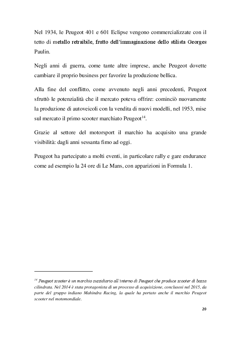 Anteprima della tesi: PSA GROUPE, Innovazione e Tecnologia nel Settore Automobilistico, Pagina 4