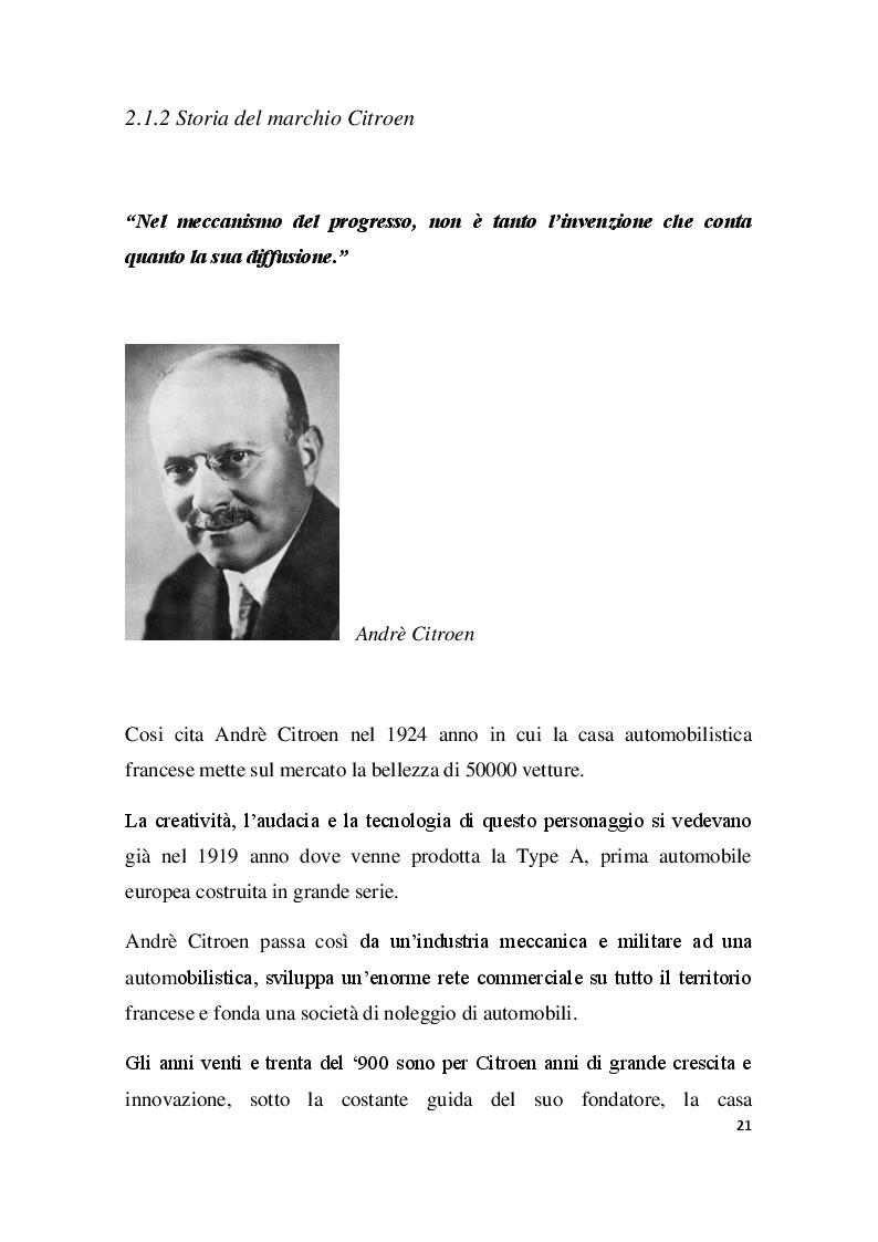 Anteprima della tesi: PSA GROUPE, Innovazione e Tecnologia nel Settore Automobilistico, Pagina 5