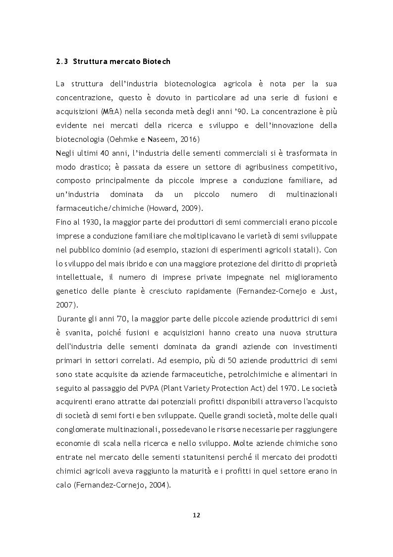 Anteprima della tesi: Ruolo e percorsi di innovazione delle startup agrobiotecnologiche: il caso delle New Breeding Techniques, Pagina 2