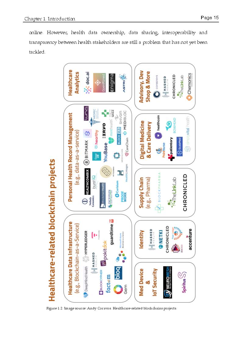 Anteprima della tesi: A multicriteria Evaluation of Blockchain Technologies applied to the Healthcare System, Pagina 7