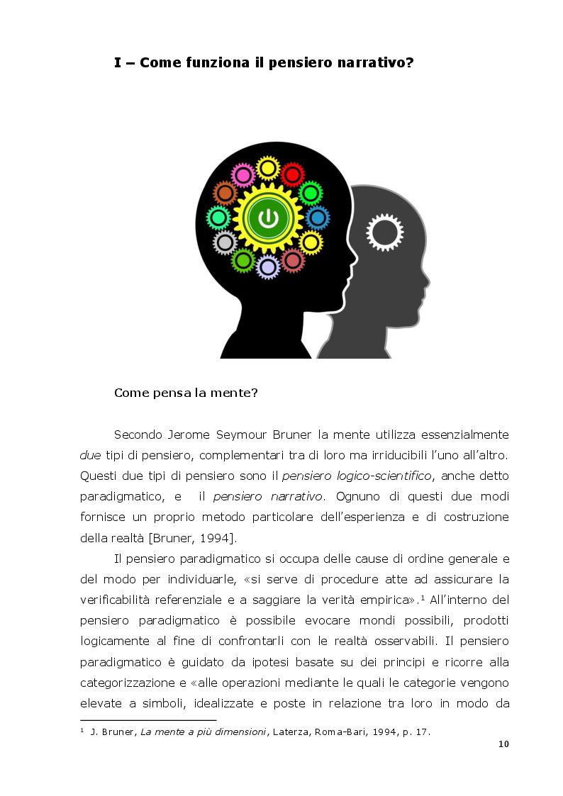 Anteprima della tesi: La mente narrativa risolve problemi?, Pagina 7