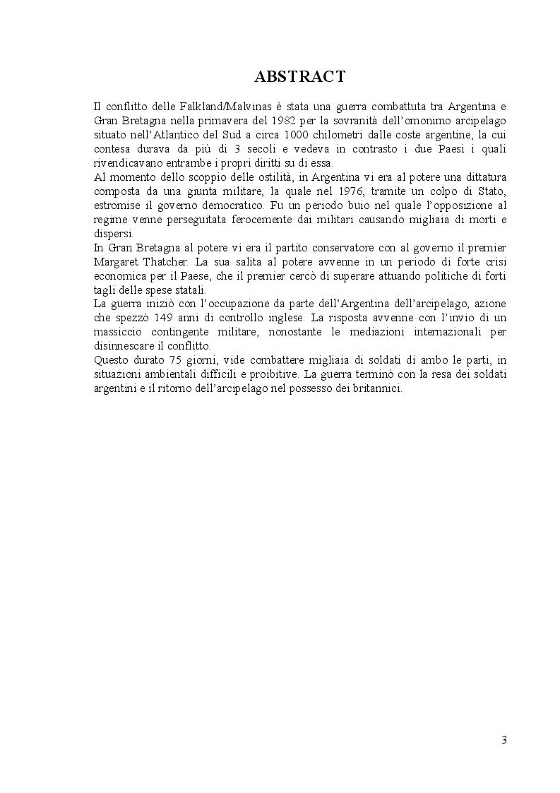 Anteprima della tesi: Il conflitto delle Falkland/Malvinas, Pagina 2