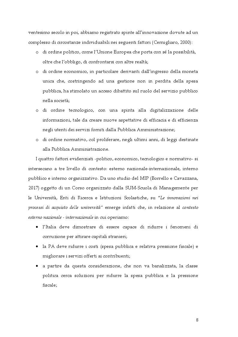 Anteprima della tesi: Cambiamento e ''cambia-menti'' nella Pubblica Amministrazione, Pagina 5