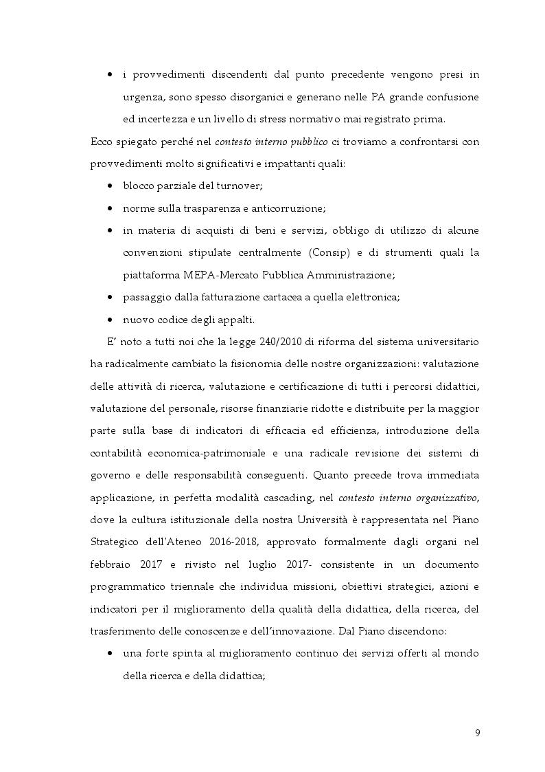 Anteprima della tesi: Cambiamento e ''cambia-menti'' nella Pubblica Amministrazione, Pagina 6