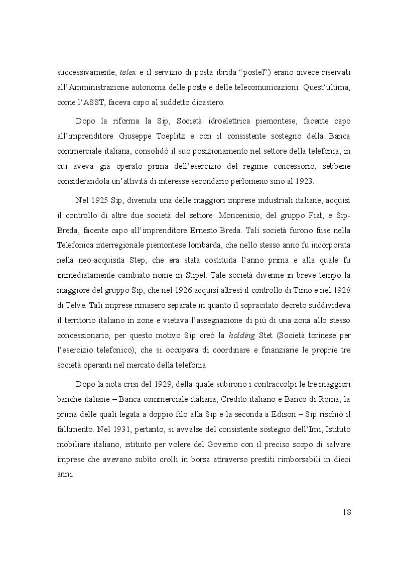 Estratto dalla tesi: Le controversie tra utenti e operatori di comunicazioni elettroniche: il ruolo dell'Autorità per le garanzie nelle comunicazioni e dei comitati regionali per le comunicazioni