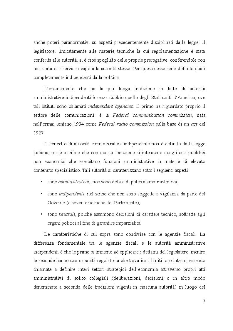 Anteprima della tesi: Le controversie tra utenti e operatori di comunicazioni elettroniche: il ruolo dell'Autorità per le garanzie nelle comunicazioni e dei comitati regionali per le comunicazioni, Pagina 3