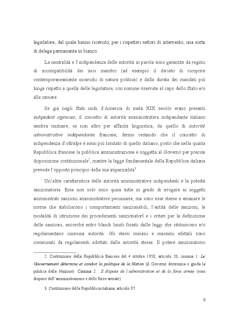 Anteprima della tesi: Le controversie tra utenti e operatori di comunicazioni elettroniche: il ruolo dell'Autorità per le garanzie nelle comunicazioni e dei comitati regionali per le comunicazioni, Pagina 4