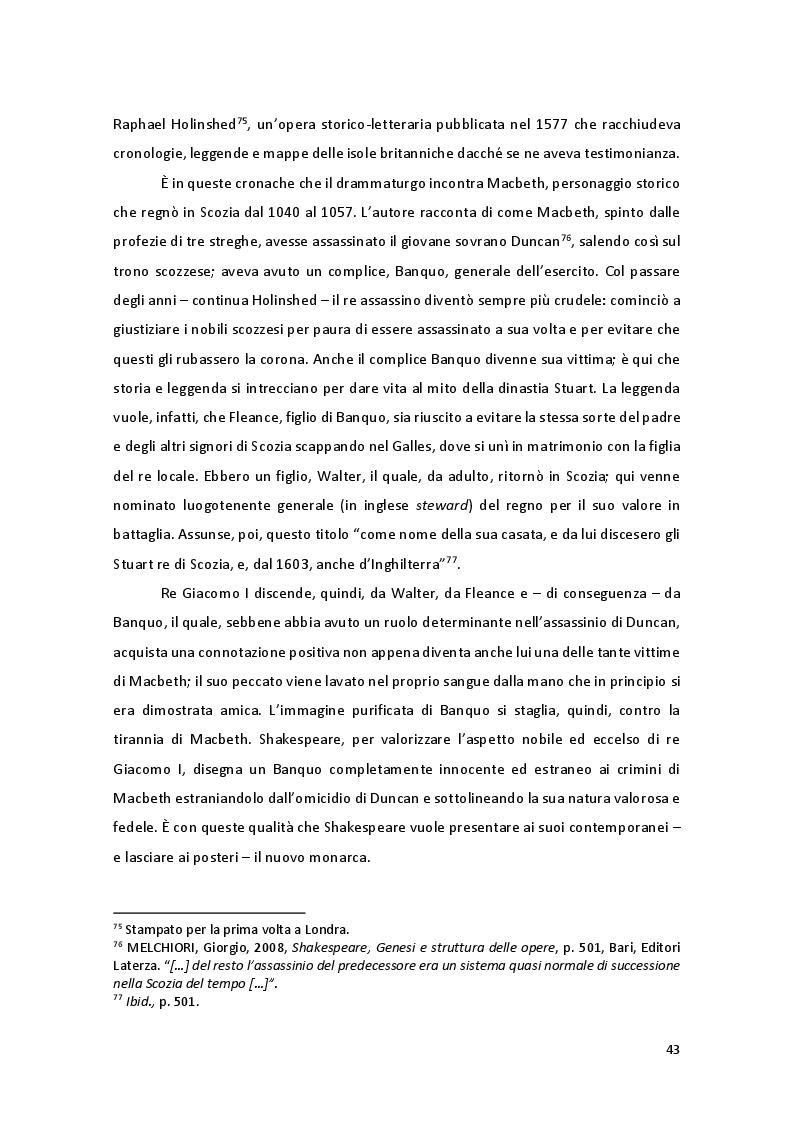 Anteprima della tesi: Storia e Mitologia della Stregoneria tra le pagine del Macbeth, Pagina 3