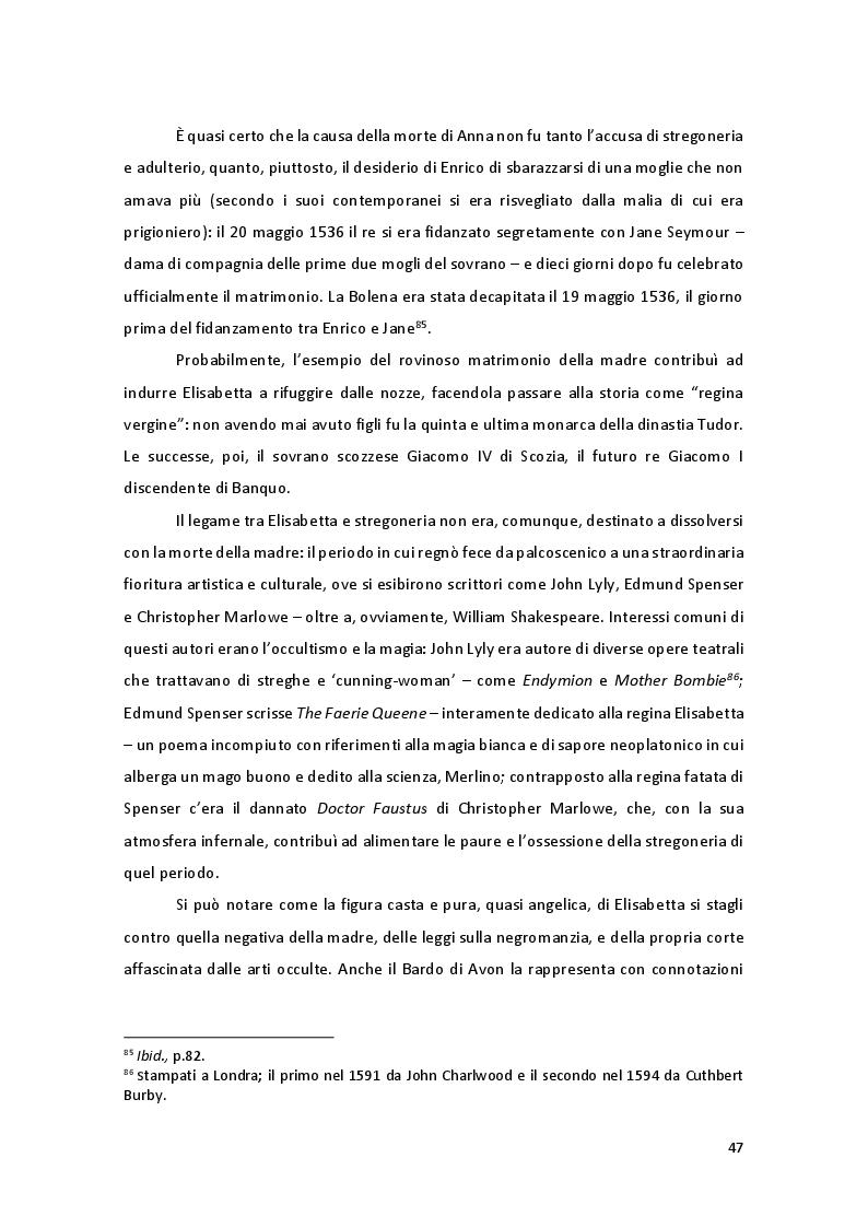Anteprima della tesi: Storia e Mitologia della Stregoneria tra le pagine del Macbeth, Pagina 7