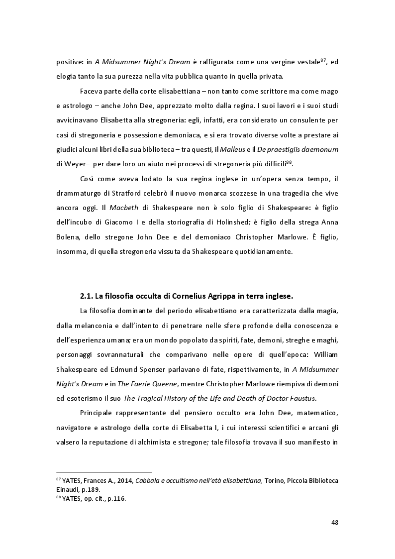 Anteprima della tesi: Storia e Mitologia della Stregoneria tra le pagine del Macbeth, Pagina 8