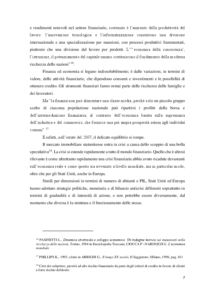 Anteprima della tesi: Le Politiche del lavoro e il Jobs Act, Pagina 8