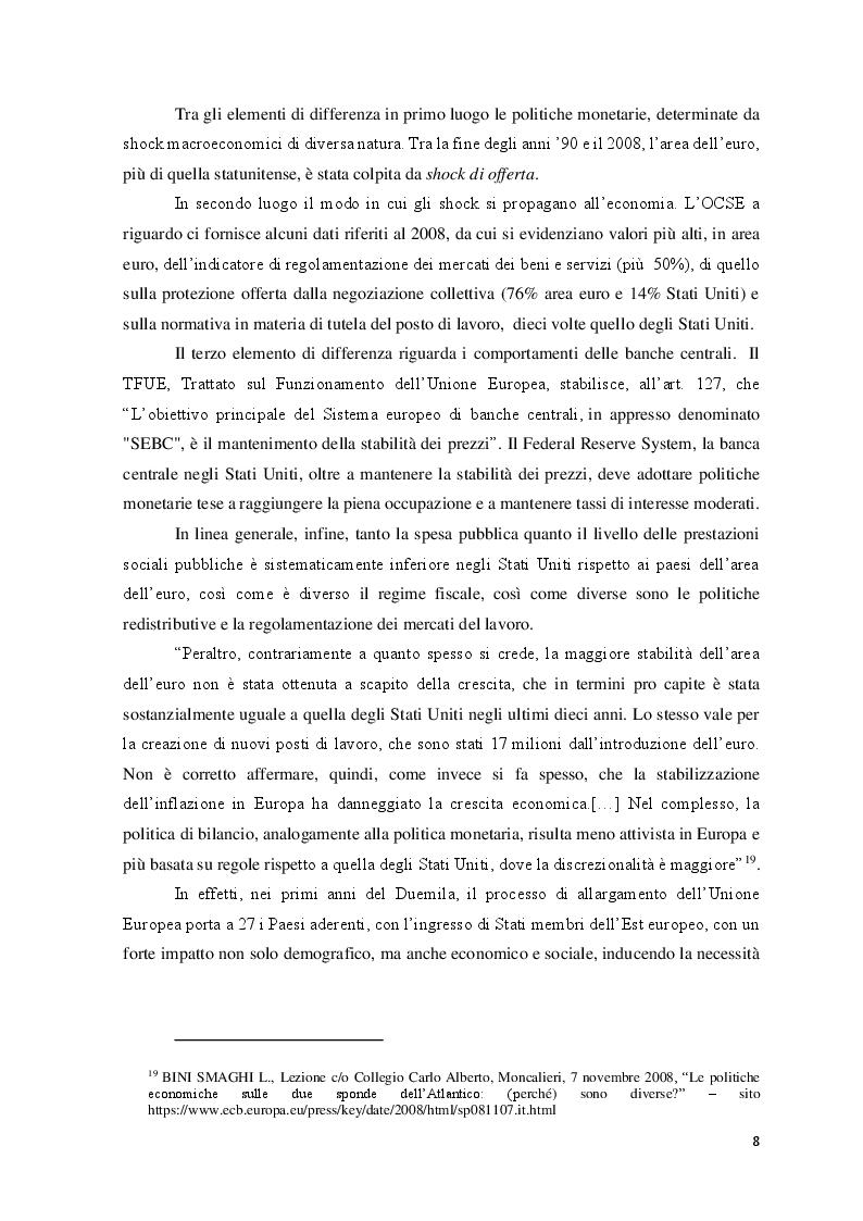 Anteprima della tesi: Le Politiche del lavoro e il Jobs Act, Pagina 9