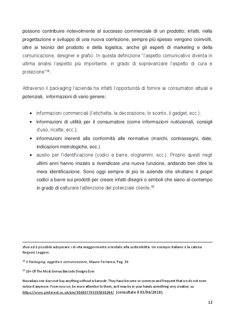 Anteprima della tesi: Il ruolo e il valore del packaging nel mercato della birra artigianale. L'introduzione della lattina nel panorama italiano, Pagina 9