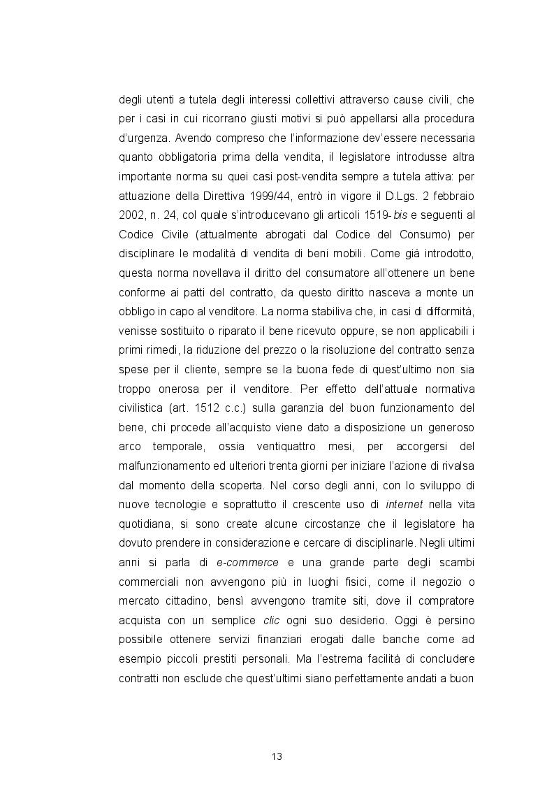 Estratto dalla tesi: Il Codice del consumo, la tutela dell'eccellenza italiana e il ''nuovo'' vino Orange