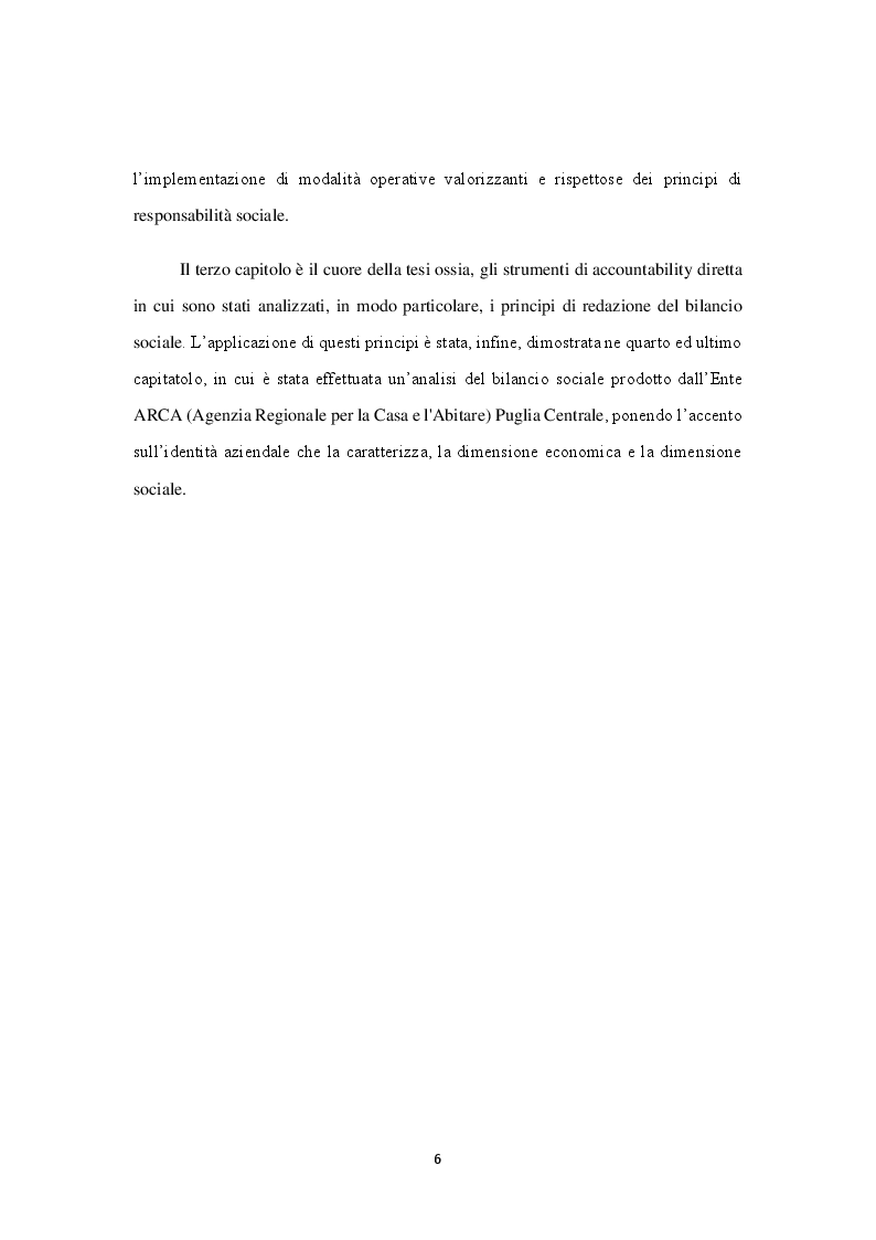 Anteprima della tesi: Il Bilancio Sociale, etica e responsabilità d'Impresa. Il Caso ARCA, Pagina 4